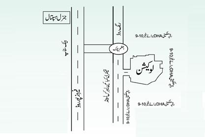 New Location plan of Aashyana Housing Lahore
