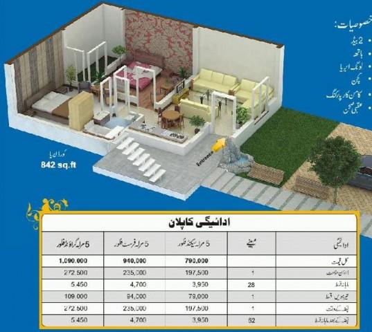Drawing Map 5 Marlas Appartment Khayaban E Amin Housing Lahore Real Estate Housing Amp Town
