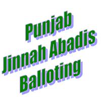 Punjab Jinnah Abadis Balloting in Multan, Faisalabad & Sheikhupura