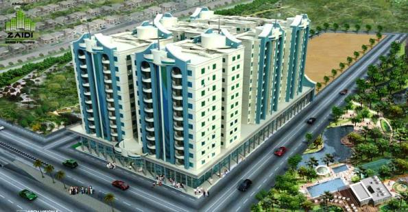 Al-Wasay Towers Karachi – 2, 3, 4 & 5 Bedrooms Apartments & Showrooms