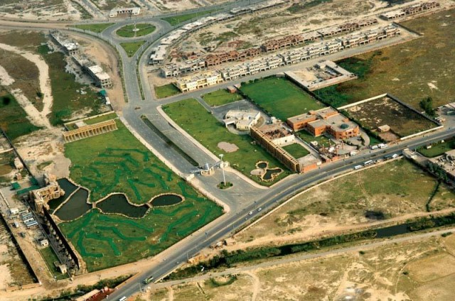 Bahria Orchard Lahore - Satellite Map - Master Plan - Bird View
