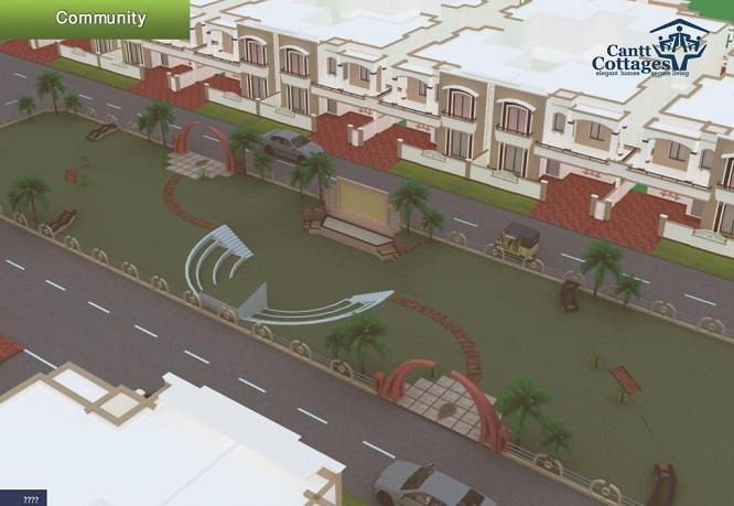 Cantt Cottages Multan (Location Plan or Map)