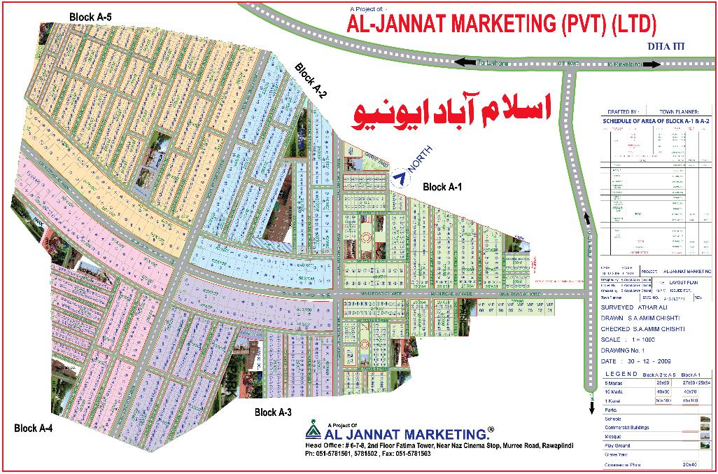 Islamabad Avenue Housing Scheme (Detail Layout Plan) – fjtown