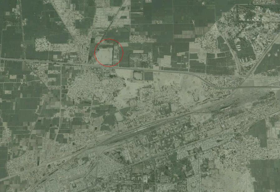 Satellite Location Map Ibrahim City Khanewal Real Estate - Satellite location map