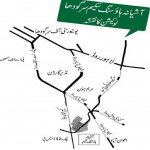 Ashiana Housing Sargodha - Location Map or Plan