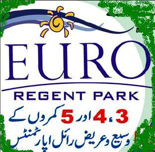 Euro Regent Park Karachi – 3, 4, & 5 Rooms Apartments
