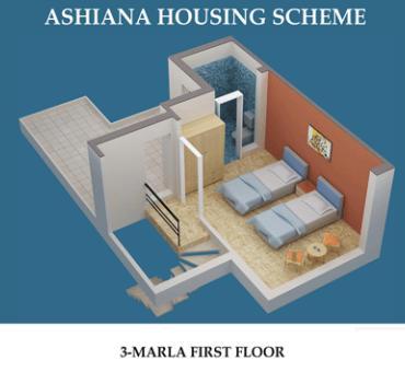 Ashiana Housing, 2 & 3 Marla Houses – Layout Plans or Drawing Maps