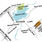 Bahria Enclave Location Plan - Opposite Park Enclave