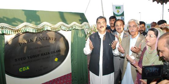 Park Enclave Islamabad is the only approved housing project established in Zone-IV – Chairman CDA