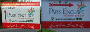 Park Enclave & Bahria Enclave Islamabad projects competition takes a new turn