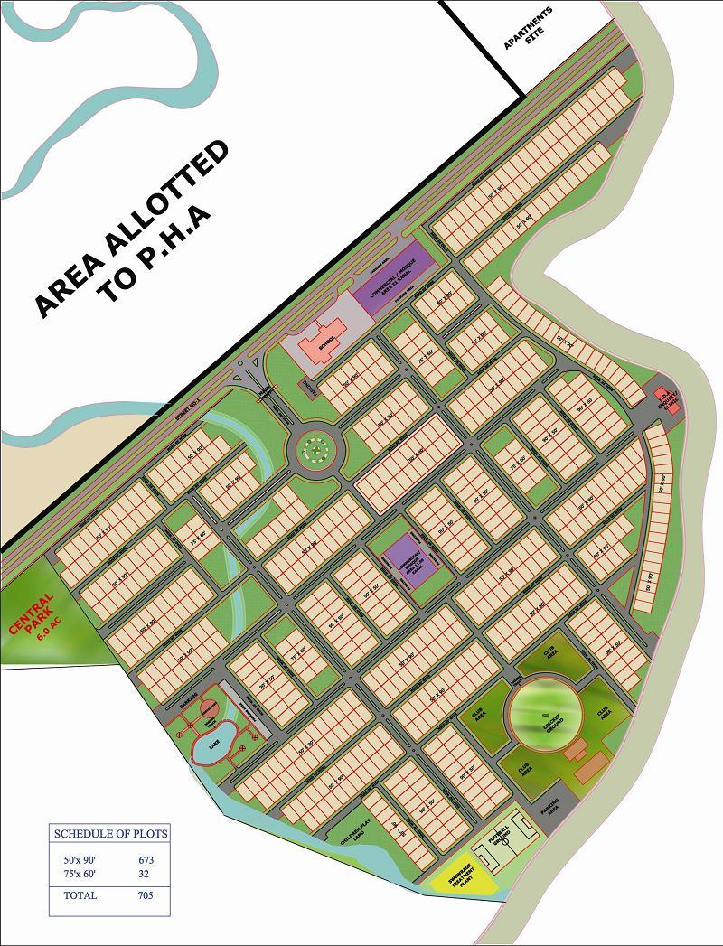 Park Enclave Phase 1 Islamabad Layput Plan 2 Real