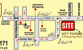 City Towers Karachi – Residential Apartments & Shopping Mall