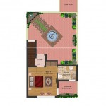 First Floor Plan 5 Marla Ground floor 2beds - Park view villas