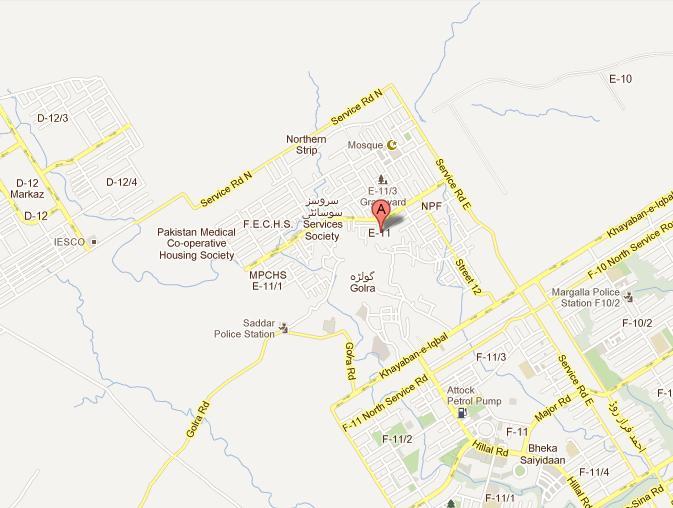 Margalla Retreat Housing Islamabad – Location & Satellite Maps