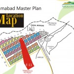 Margalla Retreat Location Map - Islamabad Master Plan