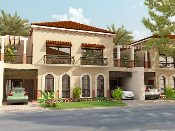 Park View Villas Front View 5 Marla House | Real Estate, Housing News