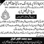 WAPDA City Faisalabad - WAPDA Co-operative Housing Society Notice for Open File Holders - Express 23-9-2011