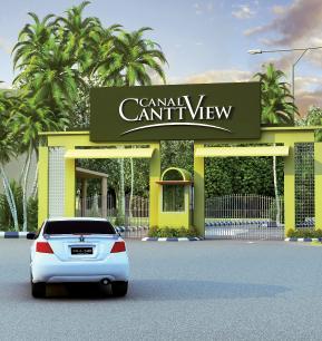 http://www.fjtown.com/wp-content/uploads/2011/10/Canal-Cantt-View-housing-scheme-Main-gate.jpg