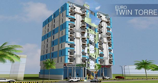 Euro Twin Torre North Nazimabad Karachi – Apartments & Show Rooms