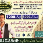 Mehran Bungalows Hyderabad - Residential & Commercial Plots and Cottages