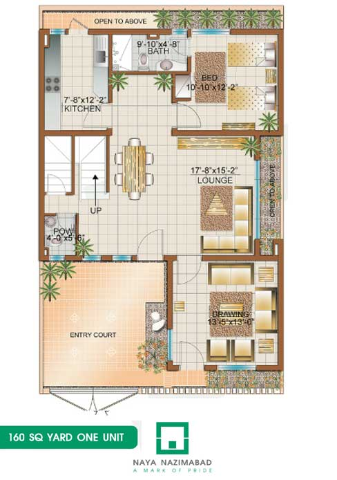 Naya nazimabad housing city karachi bunglows floor plans for 200 yards house design