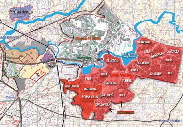 Rawalpindi Master Plan Location Map Master Plan
