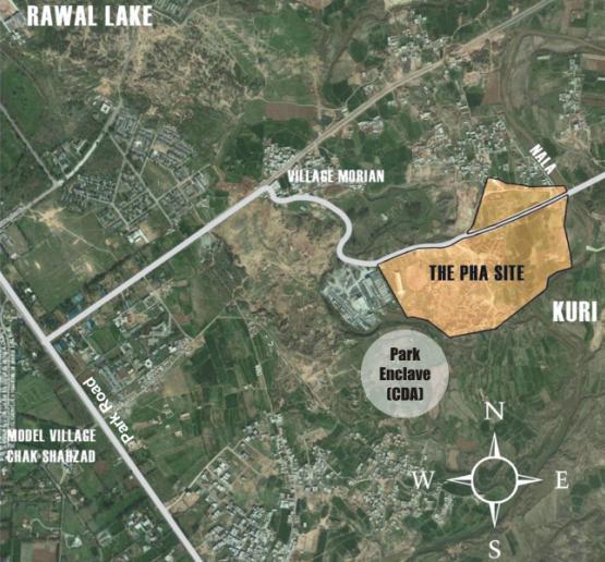 Islamabad Roads: PHA Kuri Road Islamabad Housing Project