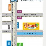 Pearl Garden Lahore - Location Map