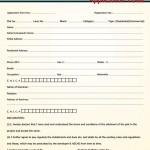 Airport Society Sector 4 Rawalpindi Islamabad - Application Form