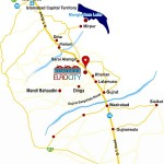 Euro City Kharian sarai Alamgir Location Map