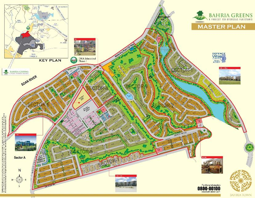 Bahria Greens Housing Master Plan