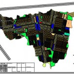 University Town Islamabad - Master or Layout Map