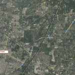Satellite Map Royal Grace City, Fatima Jinnah Town Multan