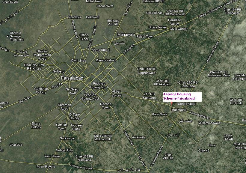 House Location Map Location Map Ashiana Housing