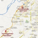 P&D Employees Housing Society Lahore - Phase I & II - Location Map
