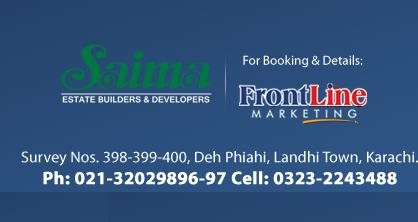 Saima Homes Contact Details for Booking