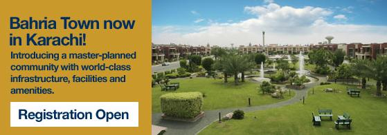 Bahria Town Now in Karachi - low cost homes