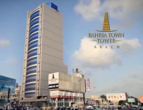 Bahria Town Tower Building View Karachi
