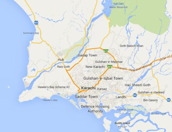 karachi karta Why No Location Map for Bahria Town Karachi? – fjtown karachi karta