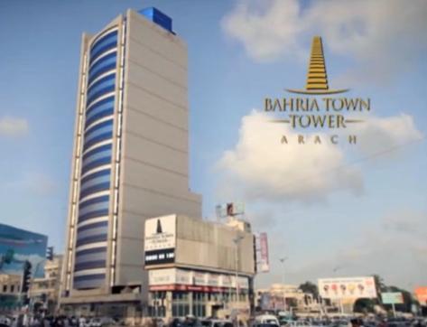 Bahria Town Tower Building View Karachi