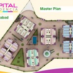 Capital Residencia Islamabad - Master Plan Detail Layout