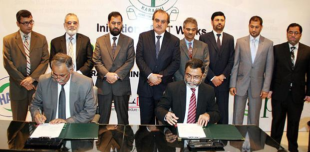 PTCL, DHA City Karachi Contract for Telecom Services