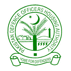Pakistan Defence Officers Housing Authority (DHA) Logo