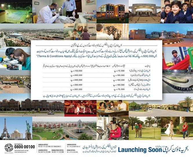 Bahria Town Discount in Karachi Projects