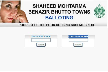 Benazir Bhutto Town Plots Balloting Result