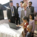 Bahria Town Karachi Balloting done by a baby girl