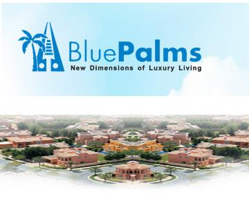 BluePalms Land Development Company Logo