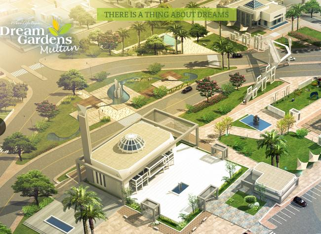 Dream Gardens Multan Conceptual View