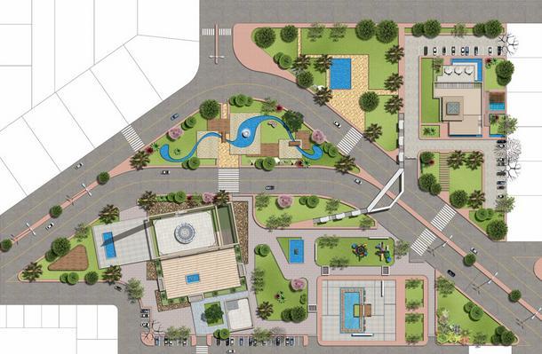 Dream Gardens Multan Master Plan