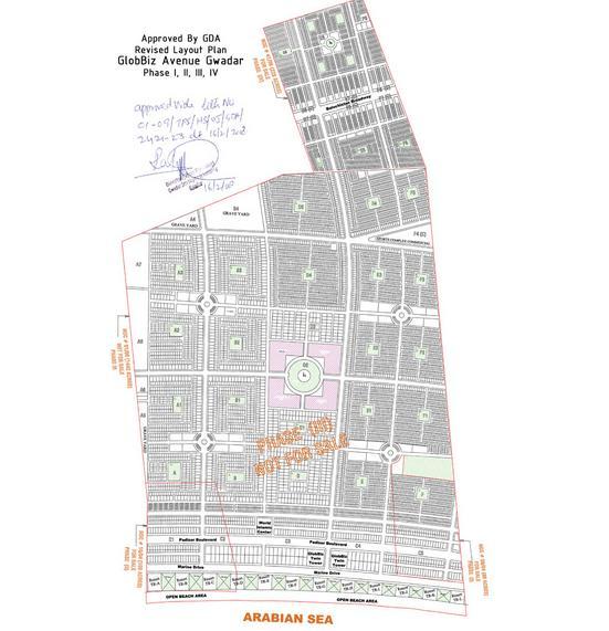 GloBiz Avenue Gwadar Master Plan